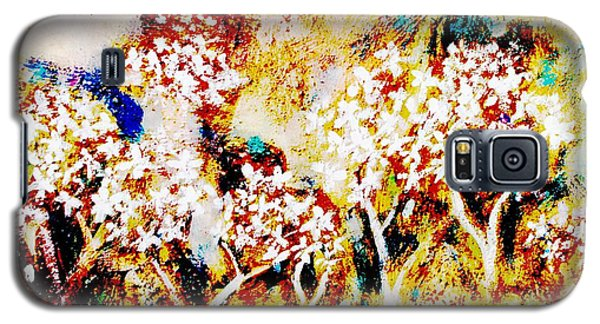 Galaxy S5 Case featuring the painting Blossom Morning by Winsome Gunning