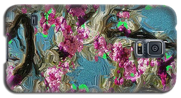 Galaxy S5 Case featuring the digital art Blossoms And Branches by Dale Stillman