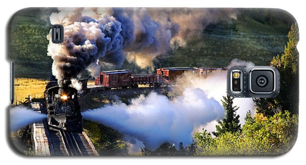 Galaxy S5 Case featuring the photograph Blowdown On Lobato Trestle by Ken Smith