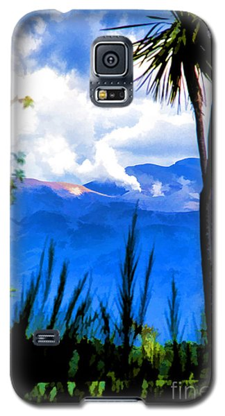 Galaxy S5 Case featuring the photograph Blowing Steam by Rick Bragan