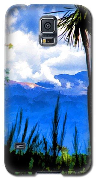 Blowing Steam Galaxy S5 Case