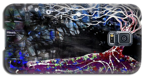 Blowing Tree Galaxy S5 Case