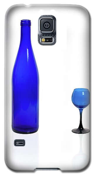 Blue  #2438 Galaxy S5 Case