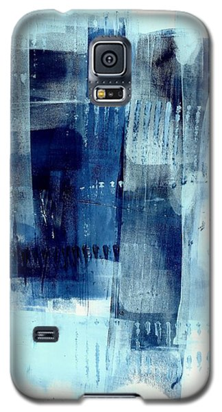 Blue Abstract I Galaxy S5 Case