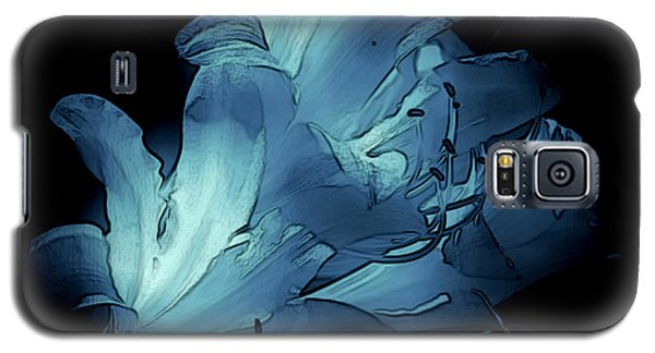 Blue Abstract No. 1 Galaxy S5 Case