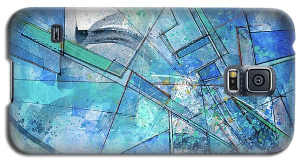 Blue Abstract  Galaxy S5 Case