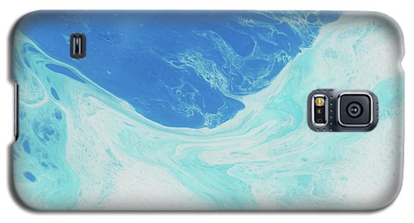 Galaxy S5 Case featuring the painting Blue Abyss by Nikki Marie Smith