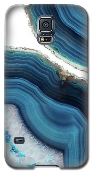 Blue Agate Galaxy S5 Case