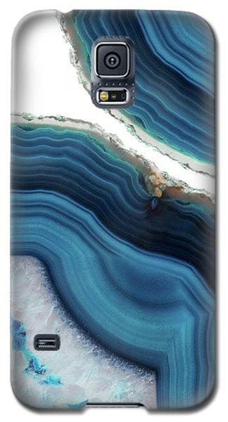 Blue Agate Galaxy S5 Case
