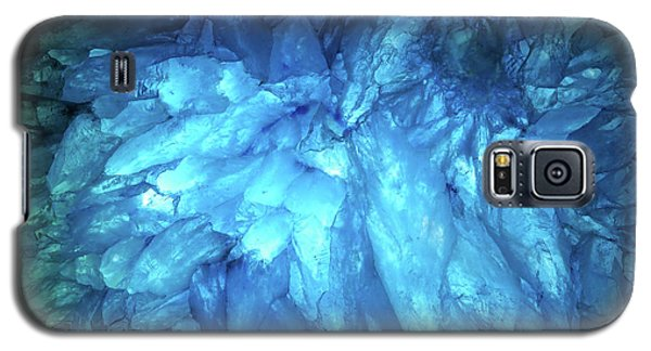 Galaxy S5 Case featuring the photograph Blue Agate by Nicholas Burningham