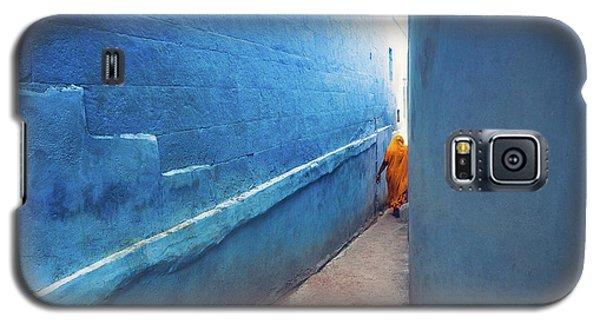 Blue Alleyway Galaxy S5 Case