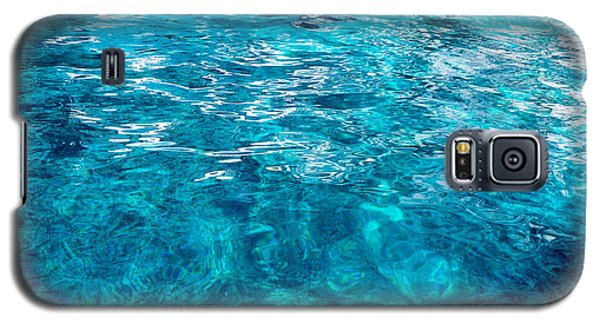 Galaxy S5 Case featuring the photograph Blue And White by Mike Ste Marie