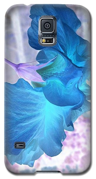 Galaxy S5 Case featuring the photograph Blue Angel  by Cathy Dee Janes