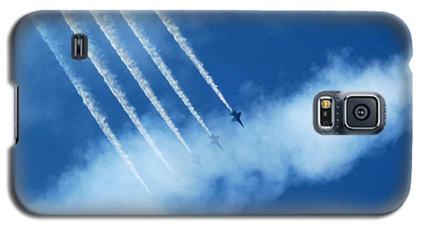 Blue Angel Symmetry Galaxy S5 Case