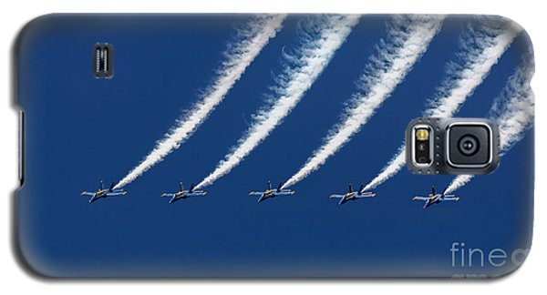 Blue Angels Formation Galaxy S5 Case by John A Rodriguez