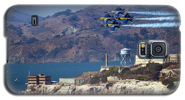 Blue Angels Over Alcatraz Galaxy S5 Case