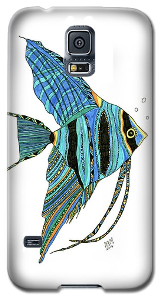 Blue Anglefish Galaxy S5 Case