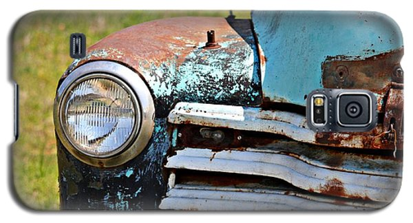 Blue Antique Chevy Grill- Fine Art Galaxy S5 Case