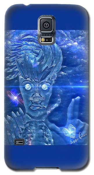 Blue Avian Galaxy S5 Case
