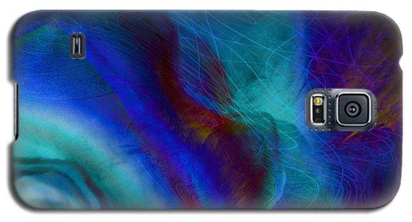 Blue Galaxy S5 Case