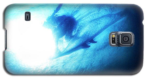 Blue Barrel Galaxy S5 Case