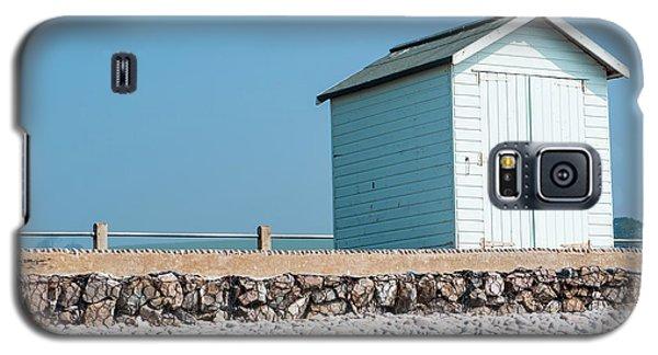 Blue Beach Hut Galaxy S5 Case
