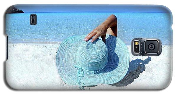 Blue Beach Galaxy S5 Case