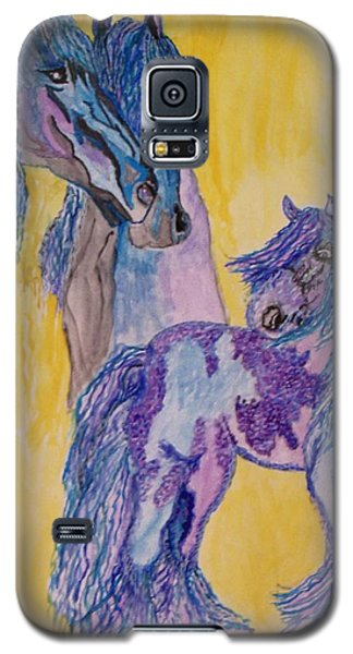 Blue Beauties Galaxy S5 Case by Connie Valasco