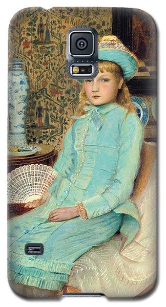 Blue Belle Galaxy S5 Case