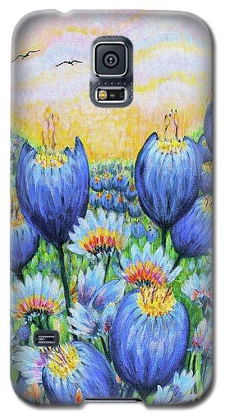 Blue Belles Galaxy S5 Case