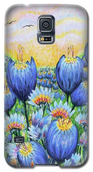 Blue Belles Galaxy S5 Case by Holly Carmichael