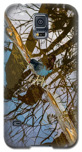 Blue Bird Galaxy S5 Case by Josy Cue