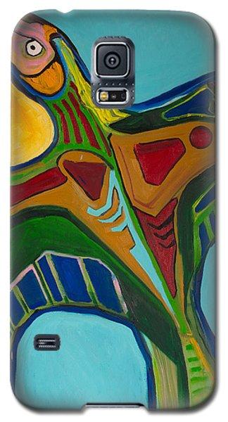 Blue Bird Soars Galaxy S5 Case