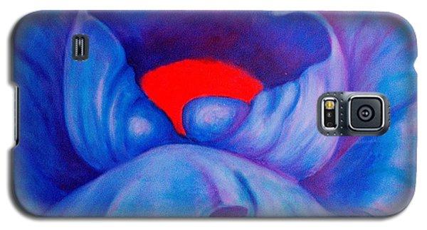 Blue Bloom Galaxy S5 Case