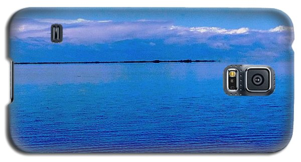 Galaxy S5 Case featuring the photograph Blue Blue Sea by Vicky Tarcau
