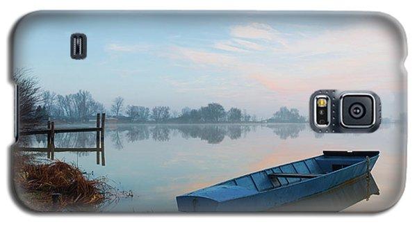 Blue Boat Galaxy S5 Case