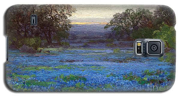 Blue Bonnet Meadows Galaxy S5 Case