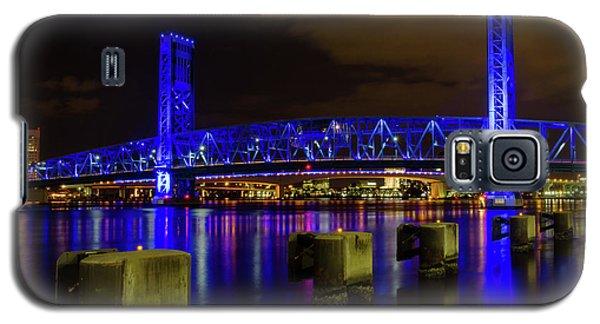Galaxy S5 Case featuring the photograph Blue Bridge 1 by Arthur Dodd