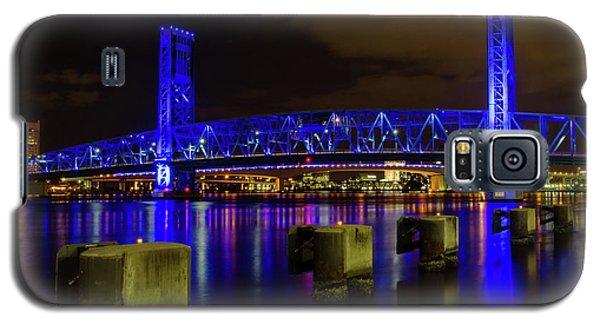 Blue Bridge 1 Galaxy S5 Case by Arthur Dodd