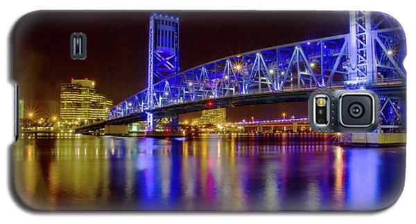 Galaxy S5 Case featuring the photograph Blue Bridge 2 by Arthur Dodd