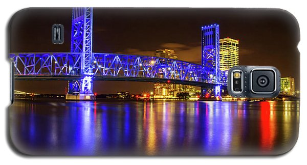 Galaxy S5 Case featuring the photograph Blue Bridge 3 by Arthur Dodd
