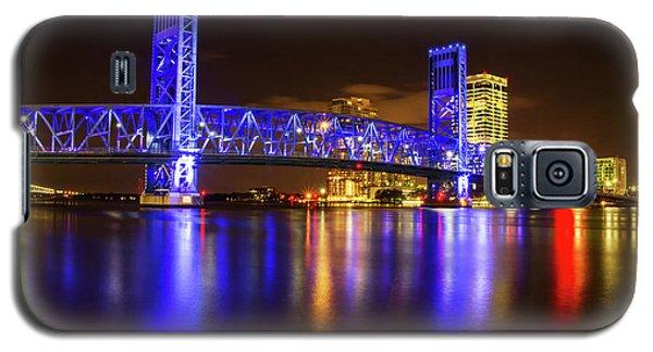 Blue Bridge 3 Galaxy S5 Case by Arthur Dodd