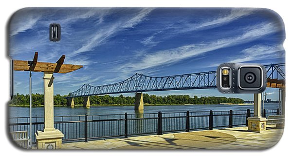 Blue Bridge And Smothers Park Galaxy S5 Case