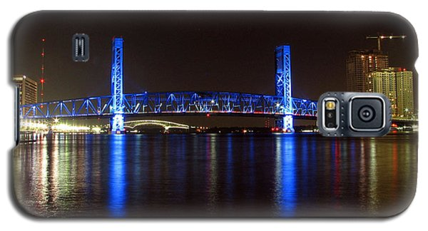 Galaxy S5 Case featuring the photograph Blue Bridge Of Jacksonville by Farol Tomson