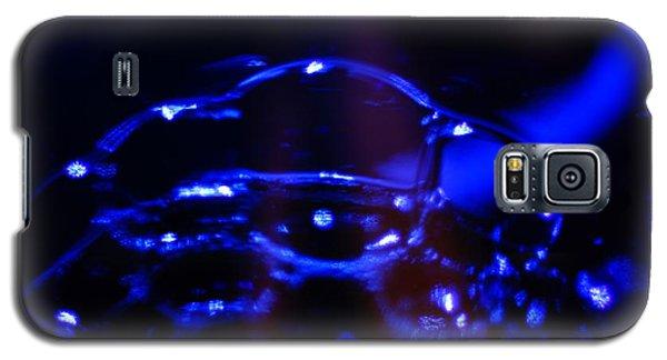 Blue Bubbles Galaxy S5 Case
