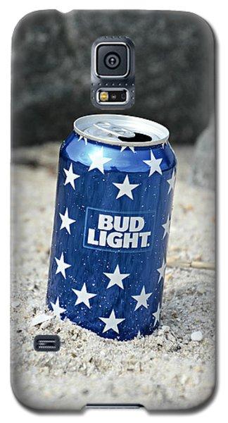 Blue Bud Light Galaxy S5 Case