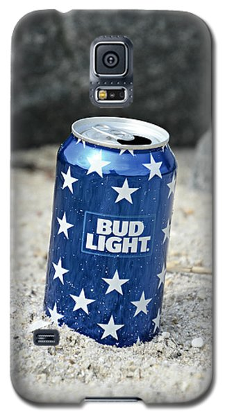 Blue Bud Light Galaxy S5 Case