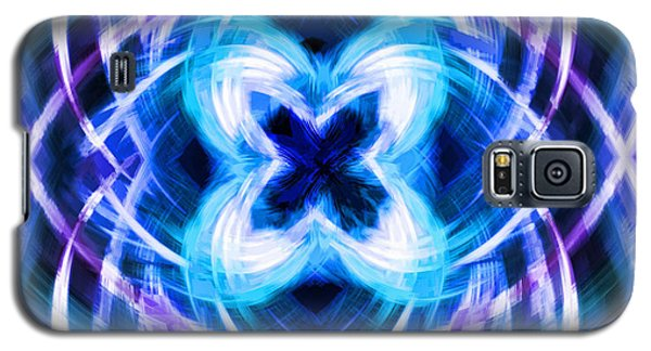 Blue Butterfly Galaxy S5 Case by Cherie Duran