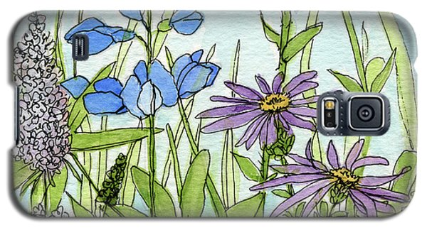 Blue Buttons Galaxy S5 Case
