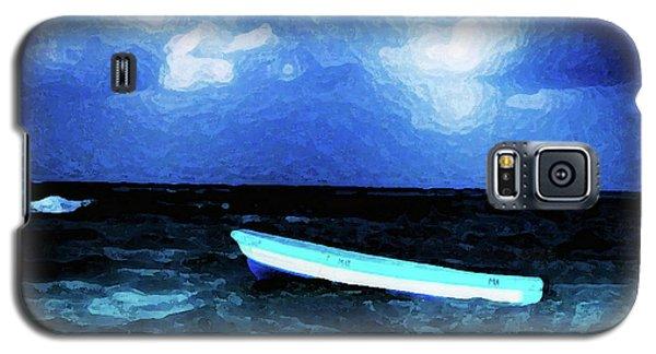Blue Cancun Galaxy S5 Case